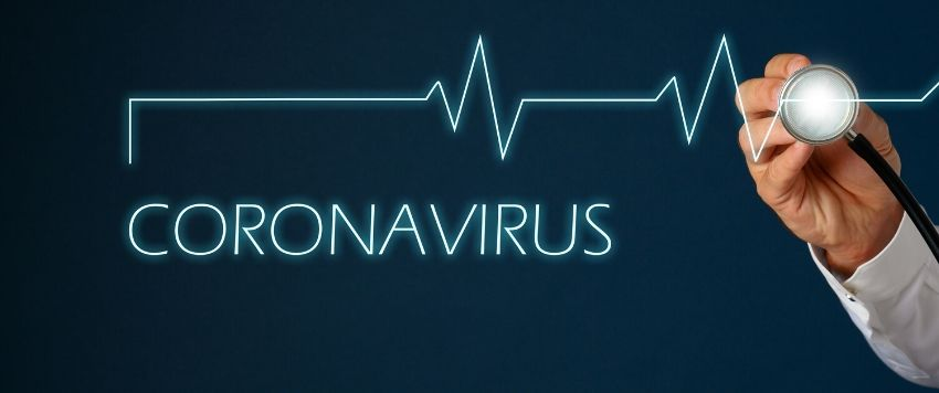 Heart rate chart and coronavirus