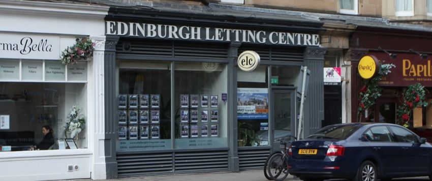 Edinburgh Letting Centre outside